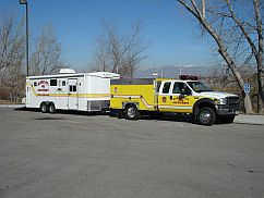 Haz-Mat and Special Operations Truck and Trailer