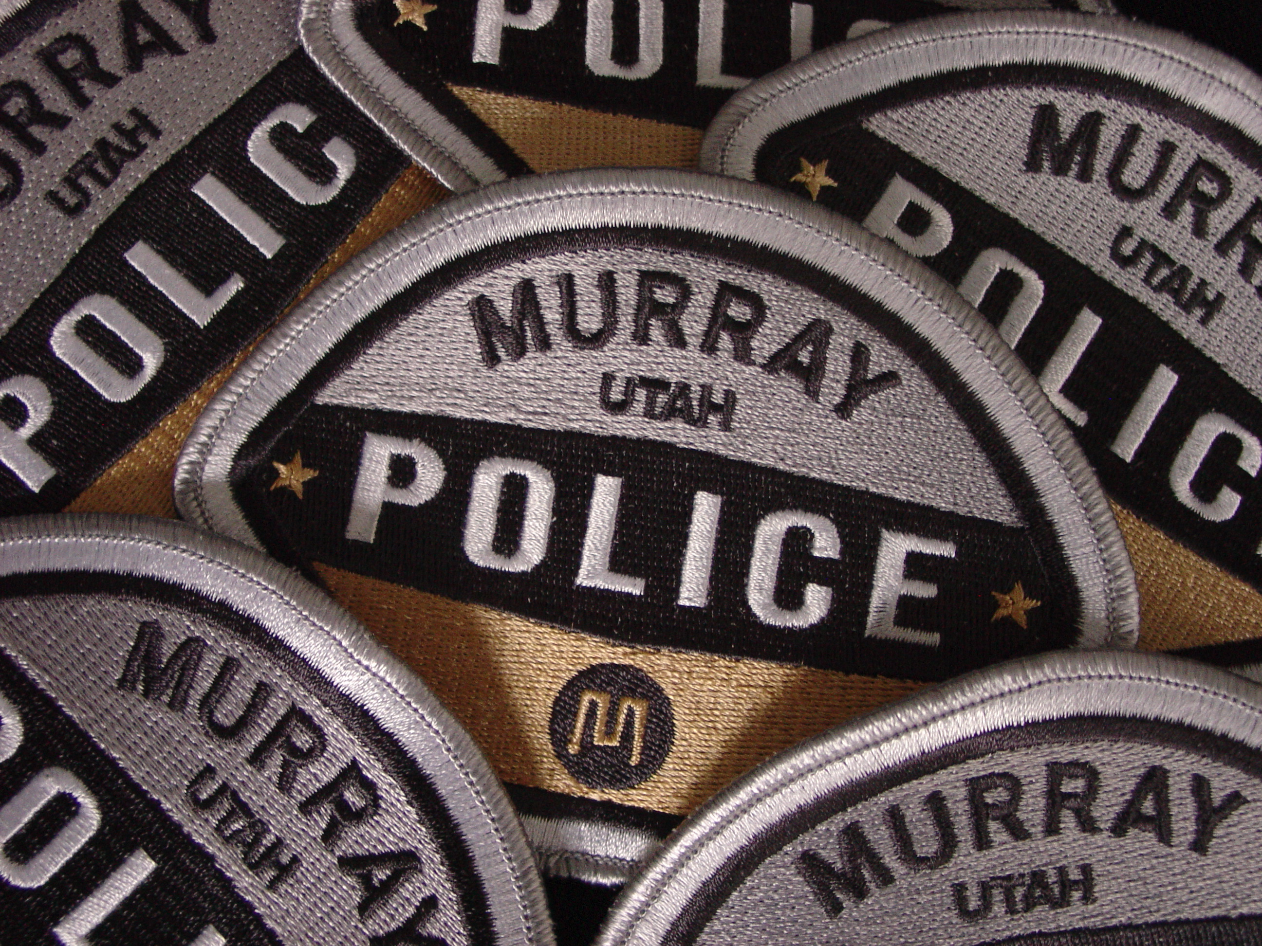 Murray City Police Patches