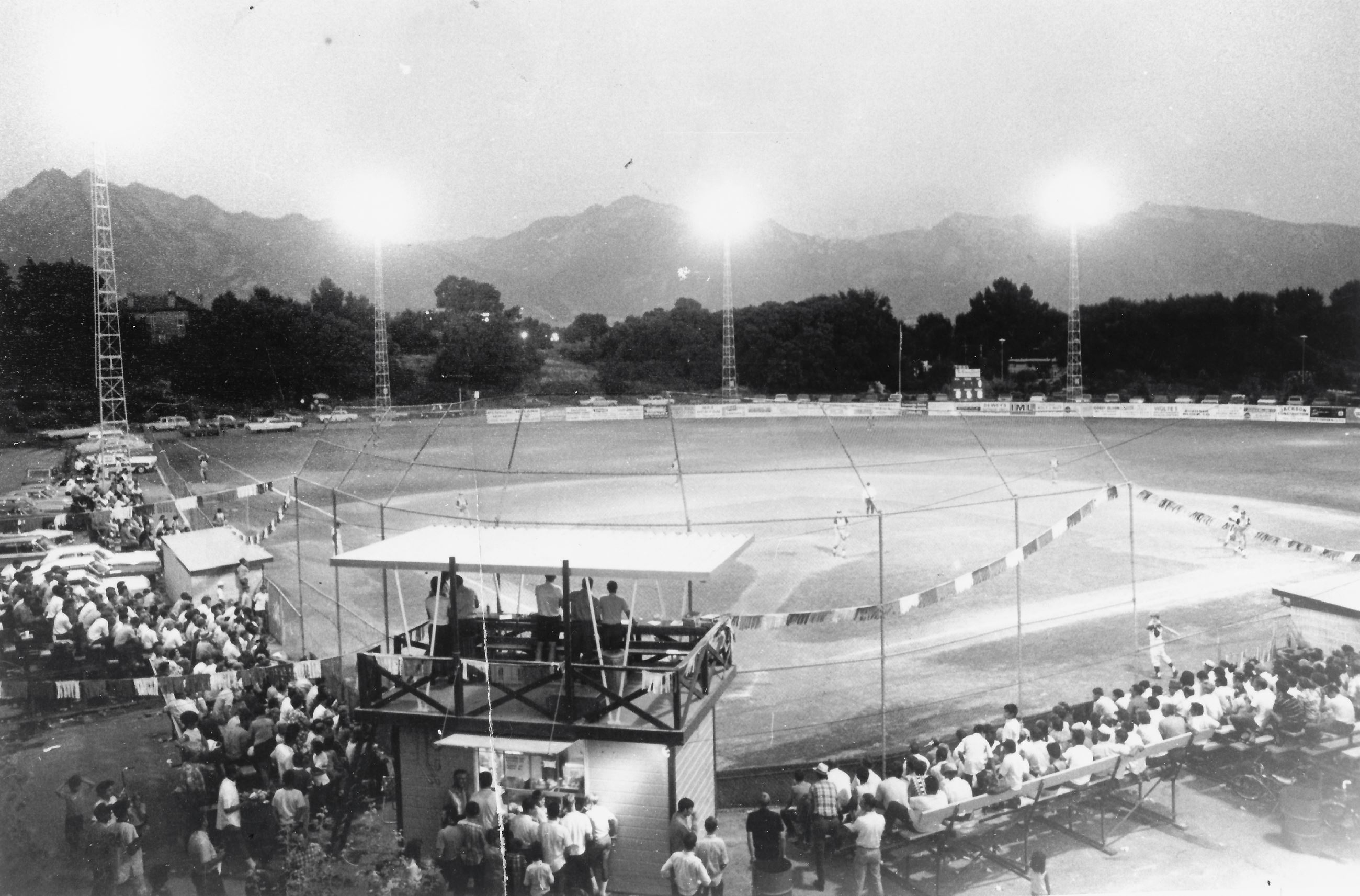 Ken Price Ballfield dedication 1969