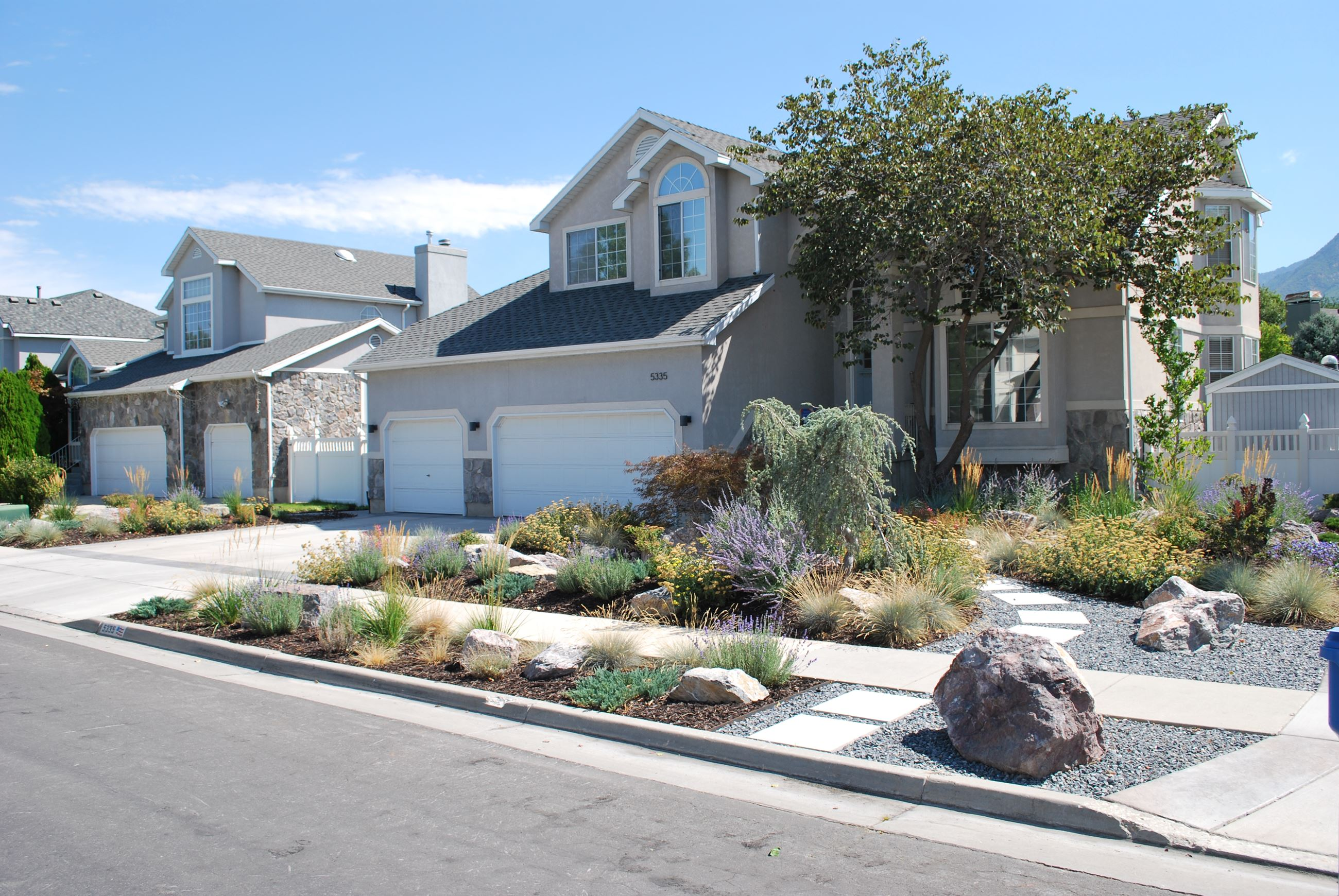 Residential Xeriscape—5335 South Castlegate Drive